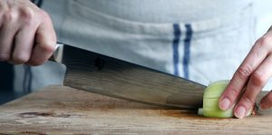 Damascus steel Chef's Knife