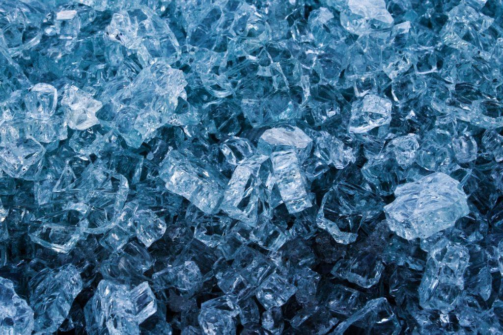 Gemstones that look like ice