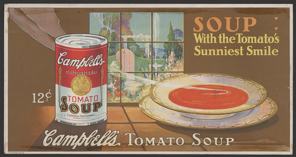 Campbell's Soup Ad (1920)